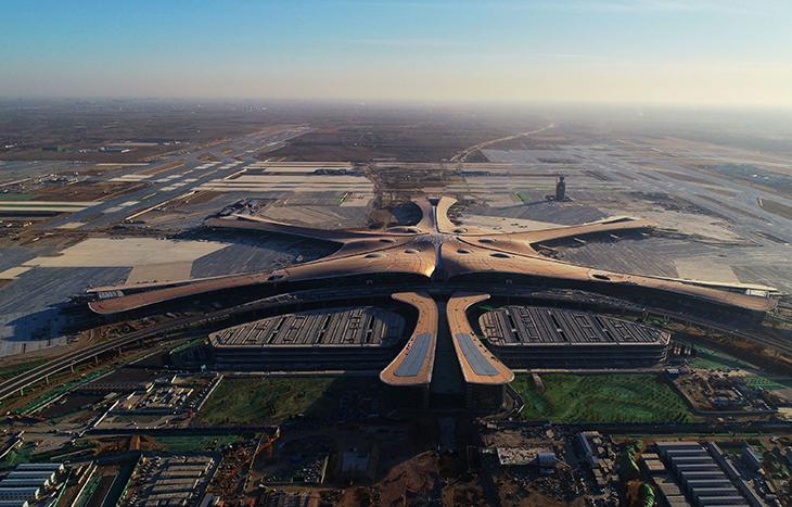 Новото летище на Пекин – огромно и енергийно ефективно.
